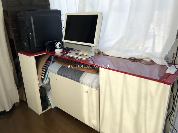 ♪DIY的な~♪ PCデスク&チェアーこれでホントの完成です!